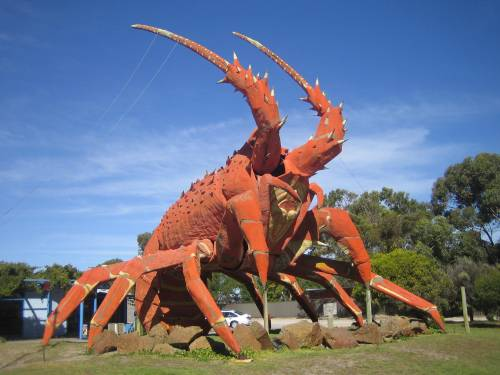 The Big Lobster in Kingston, South Australia