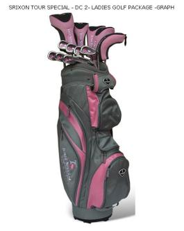 Srixon tour Special DC-2 Ladies Graphite Set